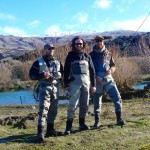 Myself, Nico and Oisin.. Oisin just bought himself a fly rod so you'll be seeing him from time to time! I Like how his beard matches his hat! Nico is armed with a fly rod now too.. Team Ireland!