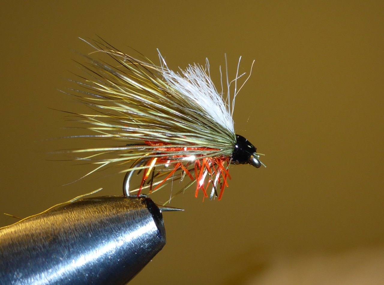 My standard dry.. Basically its always the same. I play around with different bodies and colours but the form remains the same. I design my flies to catch fish and to be very easy and quick to tie. This is also great at holding up tungsten nymphs. Any size, any body, any colour deer hair, any post.
