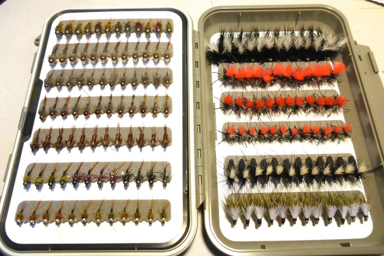 A great selection from myself, Manic Tackle Project and Stu's Superior Flies.