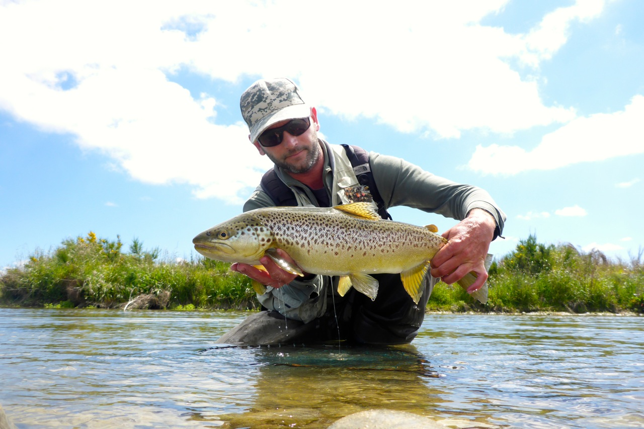 One from a backwater.. I have developed a simple but deadly tactic for NZ backwater browns. It rarely fails when well presented!