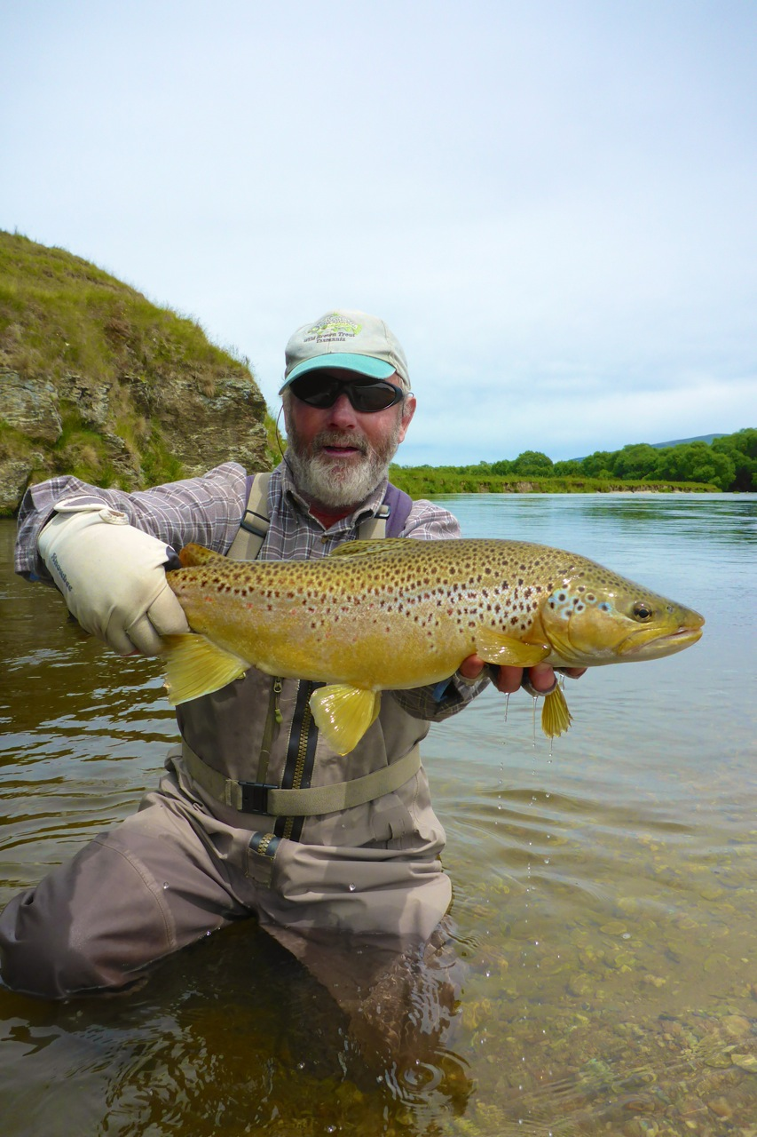 One of dad's best of his trip.. 6.5lbs from a river where this is a very big fish indeed!