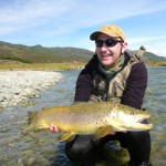The best fish from their 4 days with me! This brute unexpectedly came up from the deep for a wee dry!