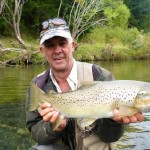 3 days with Tim and Fergus. A cracking 6.5lb seatrout to open Tim's account..