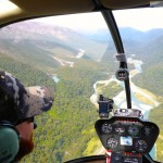The R44 is the nicest way to fly!! You simply cant beat the range of vision from them..