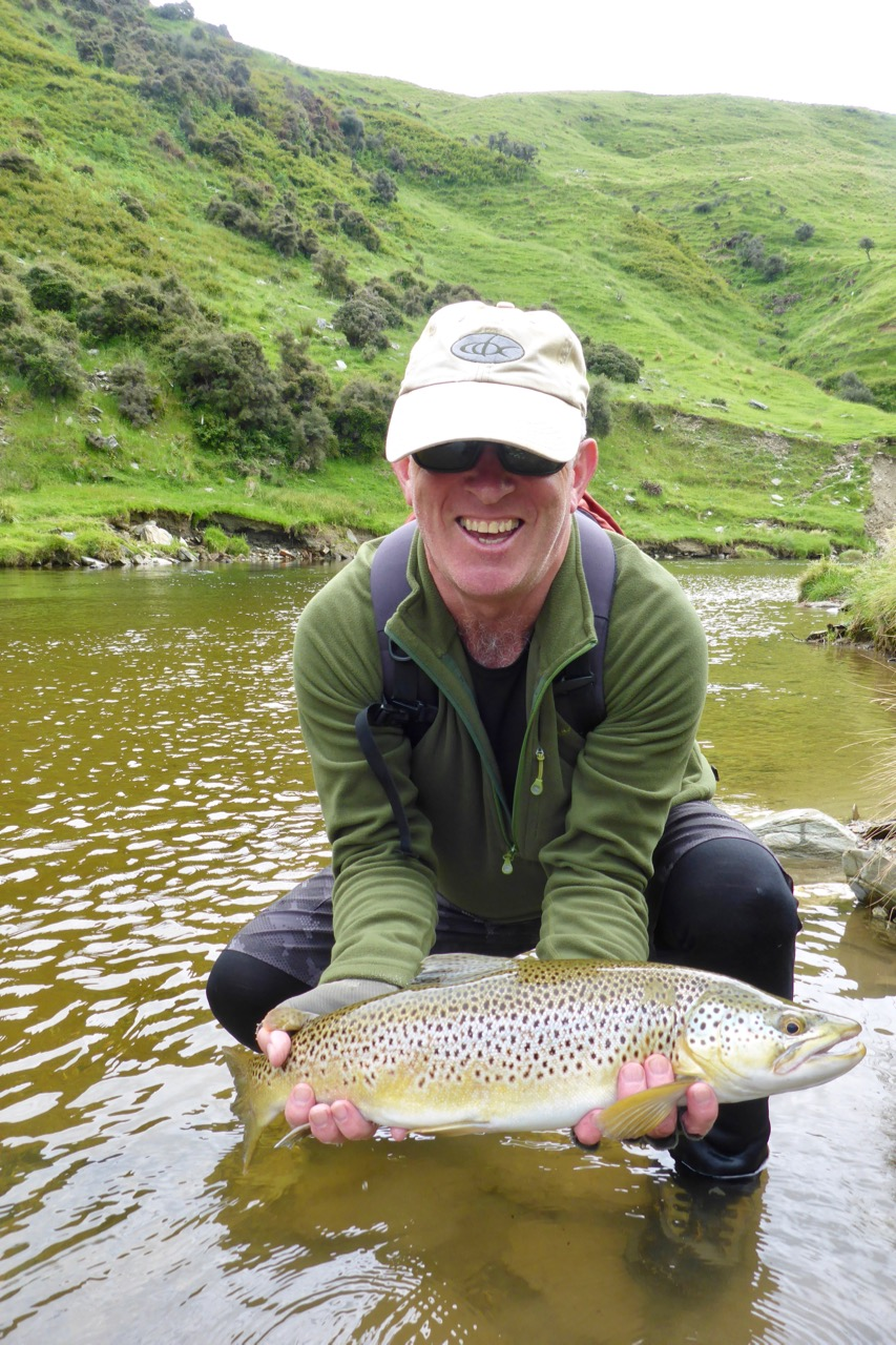 We had a very good day! Landed 2 and got beaten by trout taken mayflies. Very difficult indeed!
