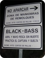 black bass - no kill