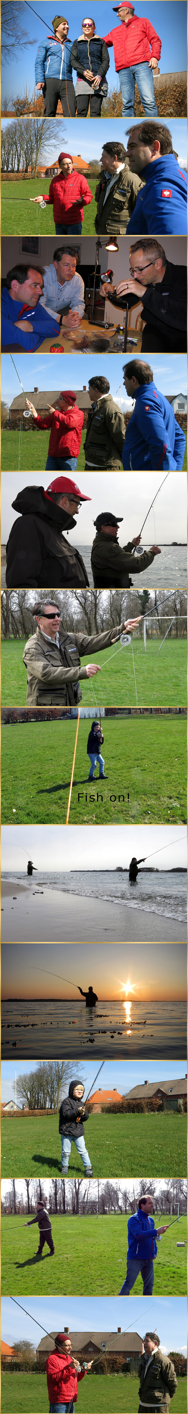 fly casting tuition
