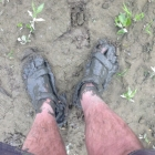 It's a bit muddy in places!