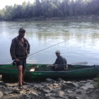 A Drava fishing trip with Peter