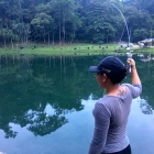 Ashly into a fish in KL