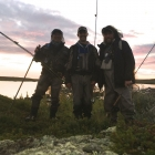 Chuan, Tim and Paul. Snakehead specialists..