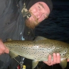 Nice trout in River X Sweden