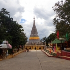 Thailand - Great architectural! The pagoda was fully built of stainless steel