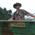 Ronan gets his own boat :)