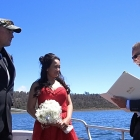 As well as fishing in Tasmania, Ashly and I got married!