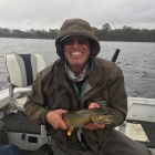I've also been fishing with Tim Munro