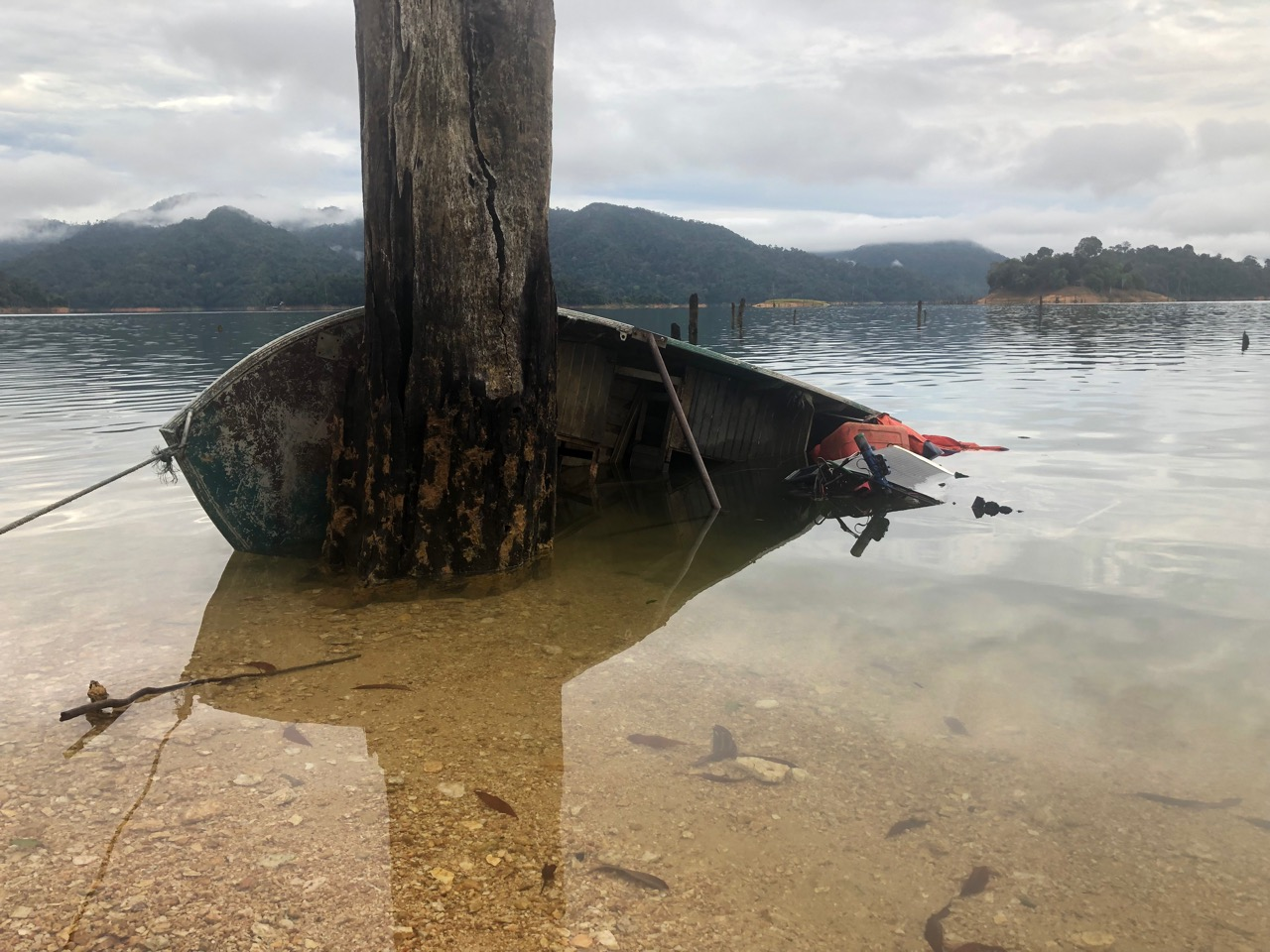 The capsized Rocket